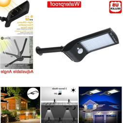 36 led solar lights pir motion sensor