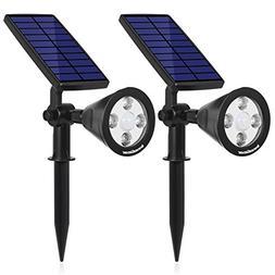 InnoGear 3rd Generation Motion Sensor Solar Lights Outdoor S