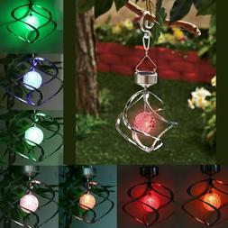 4 LED Solar Garden Lamp Spot Light Outdoor Lawn Landscape Sp