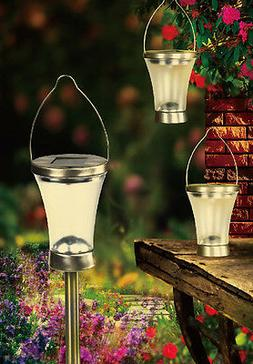 4 of Solar 3-in-1 Pathway Light Hanging Table Top Light Gard