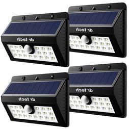 4 pack 20 led solar power light