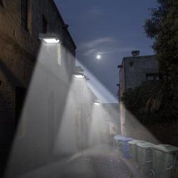 4 Pack  30 LED Solar Lights Motion Sensor Security Back Yard