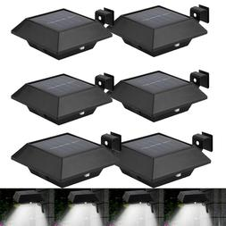 4 pack solar gutter lights outdoor 12