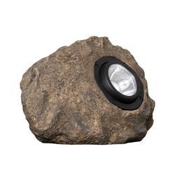 4 Solar Rock Lights Pack No Wire 10 Lumens
