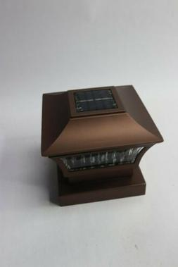"GreenLighting 4""x 4"" Wood or 5""x 5"" PVC, Aluminum Solar Post"