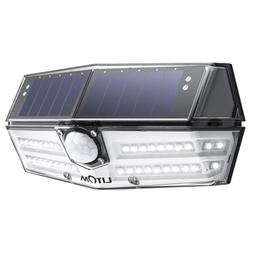 LITOM 40 LED Solar Lights Outdoor, 3 Optional Modes Wireless