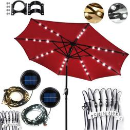 40 LEDs Solar Powered Patio String Lights Lamp Outdoor For 9