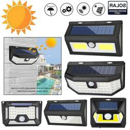 48 55 64led solar motion sensor wall