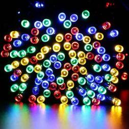 50m 500 LED Solar String Lights Outdoor Landscape LED Night