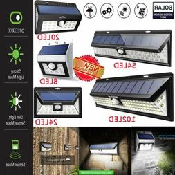 LITOM 54 LED Solar Power Light Motion Sensor Garden Security