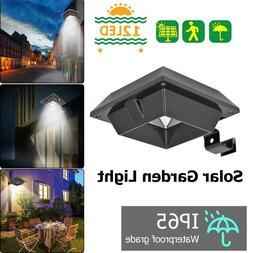 6 12led solar power light waterproof outdoor