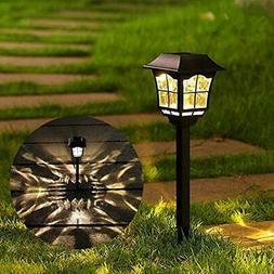 Maggift 6 Lumens Solar Pathway Lights Solar Garden Lights Ou