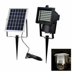 60 LED Solar Flood Lights Outdoor Solar Security Floodlight