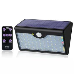 60 LED Solar Sensor Lights Outdoor Wall Yard Garden Solar Li