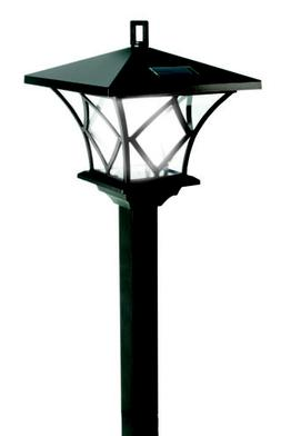60'' Versatile, Two Looks In One Vintage Outdoor Solar LED L