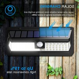 AMIR Solar Lights Outdoor 62 LED Super Bright Motion Sensor