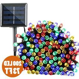 73ft Solar String Lights 200 LED Fairy Christmas Lights Outd