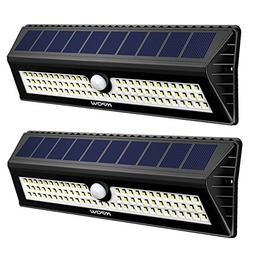 Mpow 77 LED Solar Lights Outdoor, Bright Motion Sensor Secur