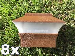 8 custom wood grain texture 4x4 solar