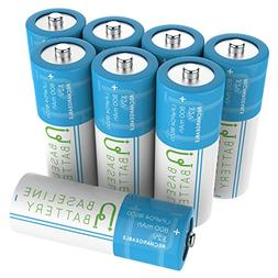 8 Baseline Battery 800 mAh IFR 18500 3.2v LiFePO4 Lithium Ph