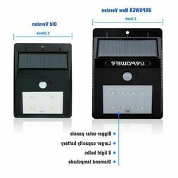 URPOWER 8 LED Wireless Solar Motion Sensor Outdoor Light - 4