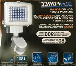 Sunforce 82080 80-LED SOLAR MOTION LIGHT RECHARGEABLE Auto T