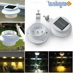 8x LED Solar Power Light Outdoor Garden Security Gutter Fenc