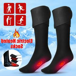 Electric Heated Socks Rechargeable Battery 4.5V Feet Winter