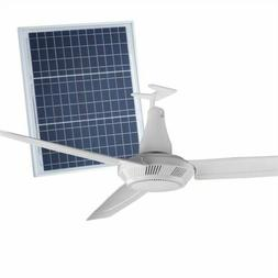 Arlec 90cm Camping ABS Ceiling Fan With Solar Panel - AUSTRA