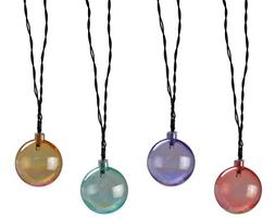Moonrays 91138 Solar Powered LED Pearlescent String Lights