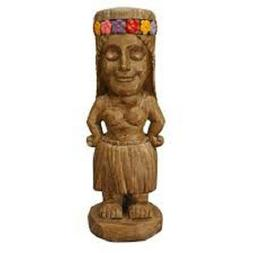 Moonrays 95962 Tiki Themed Outdoor Solar Light Garden Gnome