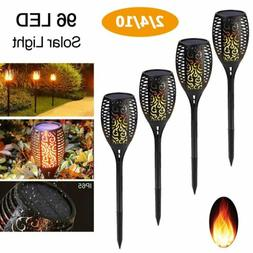 96 led solar torch lights outdoor dancing