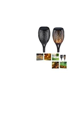 96 LED Waterproof Solar Tiki Torch Light Dancing Flickering