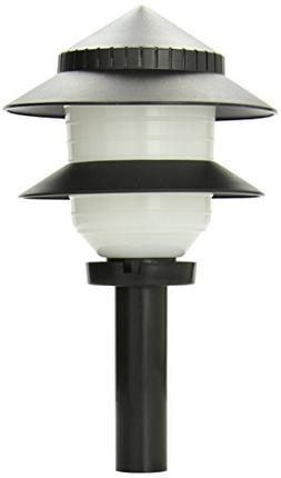Moonrays 97171 Low-Voltage Plastic 2-Tier Path Light, 4-Watt