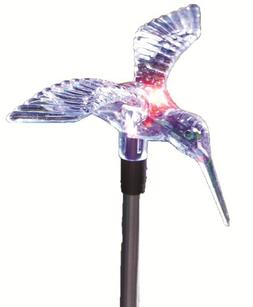 98006 solar stake light hummingbird