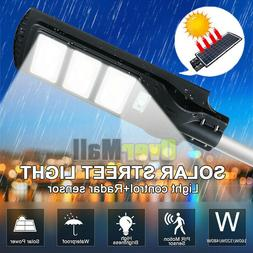 9900000LM Commercial LED Solar Street Light PIR Sensor Dusk-