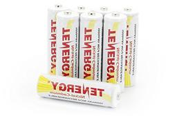 Combo: 8 Tenergy AA NiCd 1.2V Rechargeable Batteries for Gar