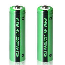 AA Battery for Solar Light NiMH 1.2v Rechargeable 1200mAh Bu