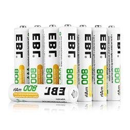 Lot Of 100 EBL Type AAA Rechargeable Replacement Batteries F