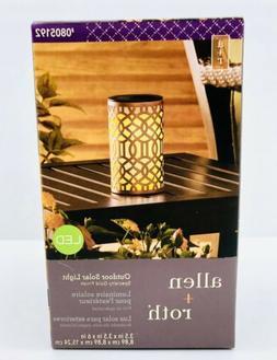 Allen and Roth silkroad design solar light