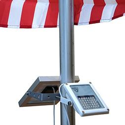 ALPHA 180X Flag Pole Light  for Solar Flagpole Lighting/Cast