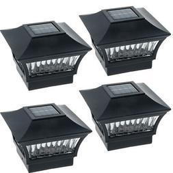 GreenLighting Aluminum Solar Post Cap Light 4x4 Wood or 5x5