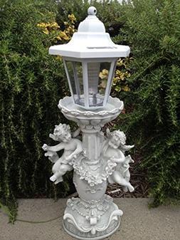 Angel Cherubs Solar Light with Warm White LED