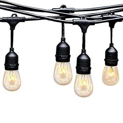 Ashialight Solar LED Outdoor String Lights with Hanging Sock