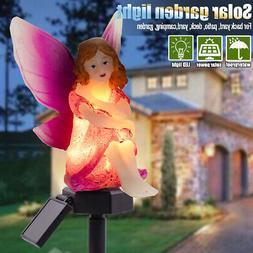 AUGIENB Solar Powered Garden Landscape Lights Waterproof Fai