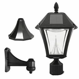 Gama Sonic Baytown II Solar Outdoor Led Light Fixture, Pole/