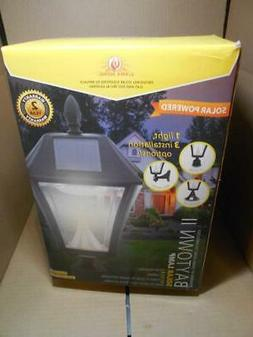 Gama Sonic Baytown II Solar Outdoor LED Light, Multiple Blac