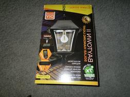 Gama Sonic Baytown ll Solar Hanging Light-Black Resin-Model