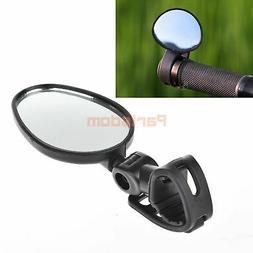 TRELC Bike Rearview Mirror, Universal Mini Rotaty Rearview H