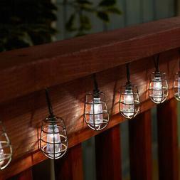 Smart Solar 3761WR20 Cornelius White LED String Lights, 20 L